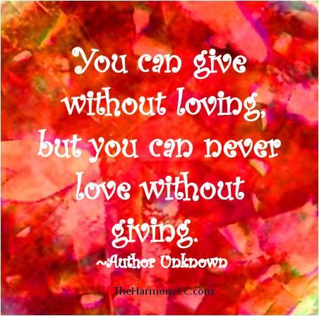 GivewithoutLove
