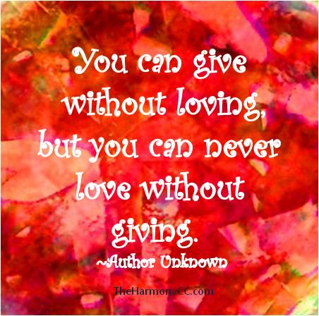 GivewithoutLove