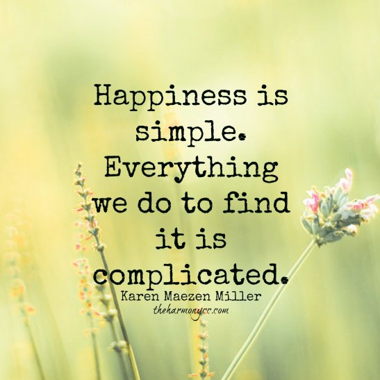 SimpleHappiness