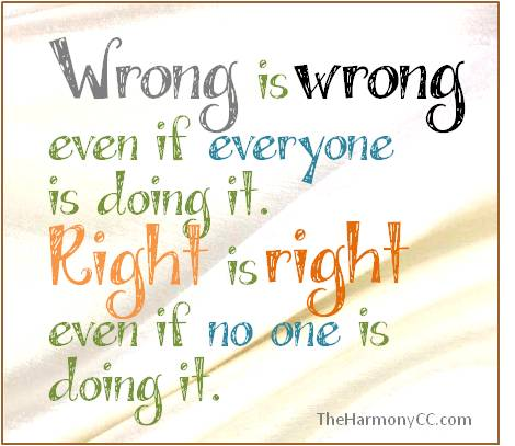 Wrong.Right